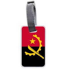 Flag Of Angola Luggage Tags (one Side)