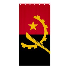 Flag Of Angola Shower Curtain 36  X 72  (stall)