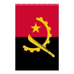 Flag Of Angola Shower Curtain 48  X 72  (small)