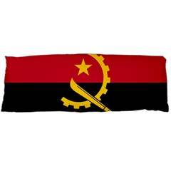 Flag Of Angola Body Pillow Case (dakimakura)