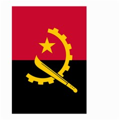 Flag Of Angola Small Garden Flag (two Sides)