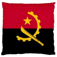 Flag Of Angola Large Cushion Case (one Side)