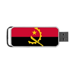Flag Of Angola Portable Usb Flash (one Side)