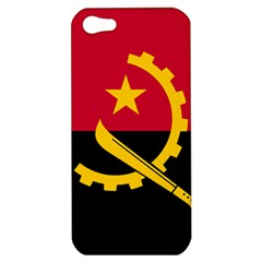 Flag Of Angola Apple Iphone 5 Hardshell Case