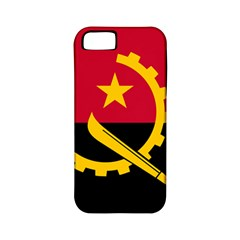Flag Of Angola Apple Iphone 5 Classic Hardshell Case (pc+silicone)