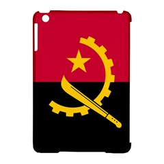 Flag Of Angola Apple Ipad Mini Hardshell Case (compatible With Smart Cover) by abbeyz71