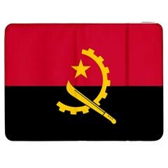 Flag Of Angola Samsung Galaxy Tab 7  P1000 Flip Case