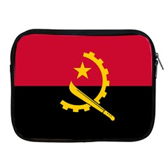 Flag Of Angola Apple Ipad 2/3/4 Zipper Cases
