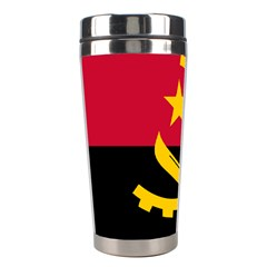 Flag Of Angola Stainless Steel Travel Tumblers by abbeyz71