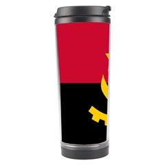 Flag Of Angola Travel Tumbler