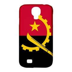 Flag Of Angola Samsung Galaxy S4 Classic Hardshell Case (pc+silicone)