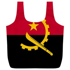 Flag Of Angola Full Print Recycle Bags (l)