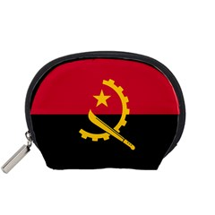 Flag Of Angola Accessory Pouches (small)