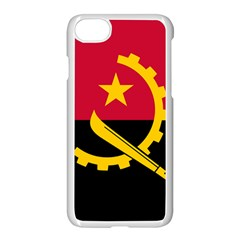 Flag Of Angola Apple Iphone 7 Seamless Case (white)