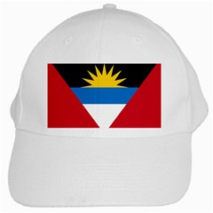 Flag Of Antigua & Barbuda White Cap