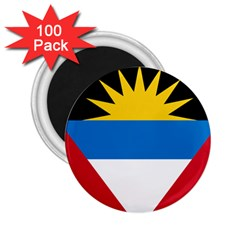 Flag Of Antigua & Barbuda 2 25  Magnets (100 Pack)