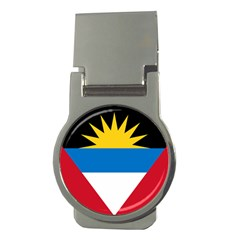 Flag Of Antigua & Barbuda Money Clips (round)