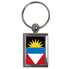 Flag Of Antigua & Barbuda Key Chains (rectangle)