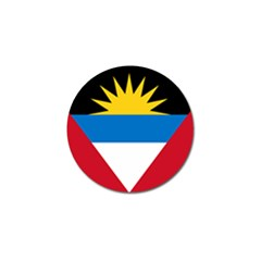 Flag Of Antigua & Barbuda Golf Ball Marker (4 Pack)