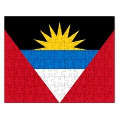 Flag Of Antigua & Barbuda Rectangular Jigsaw Puzzl by abbeyz71