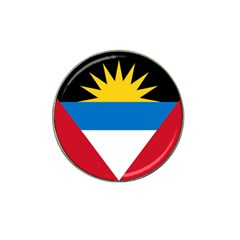 Flag Of Antigua & Barbuda Hat Clip Ball Marker (4 Pack)