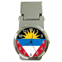 Flag Of Antigua & Barbuda Money Clip Watches by abbeyz71