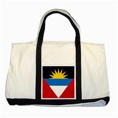 Flag Of Antigua & Barbuda Two Tone Tote Bag