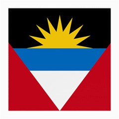 Flag Of Antigua & Barbuda Medium Glasses Cloth (2 Side)