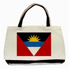 Flag Of Antigua & Barbuda Basic Tote Bag (two Sides)