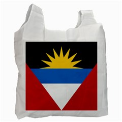 Flag Of Antigua & Barbuda Recycle Bag (one Side)