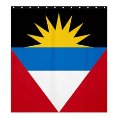 Flag Of Antigua & Barbuda Shower Curtain 66  X 72  (large)