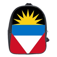 Flag Of Antigua & Barbuda School Bag (large)