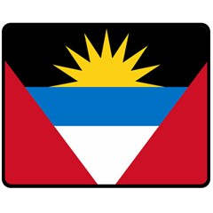 Flag Of Antigua & Barbuda Fleece Blanket (medium)