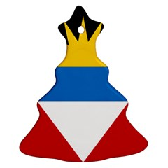 Flag Of Antigua & Barbuda Christmas Tree Ornament (two Sides)