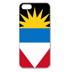 Flag Of Antigua & Barbuda Apple Seamless Iphone 5 Case (clear)