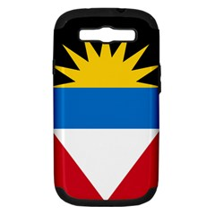 Flag Of Antigua & Barbuda Samsung Galaxy S Iii Hardshell Case (pc+silicone)