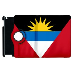Flag Of Antigua & Barbuda Apple Ipad 2 Flip 360 Case