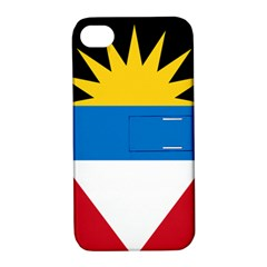Flag Of Antigua & Barbuda Apple Iphone 4/4s Hardshell Case With Stand