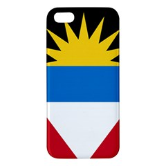 Flag Of Antigua & Barbuda Apple Iphone 5 Premium Hardshell Case