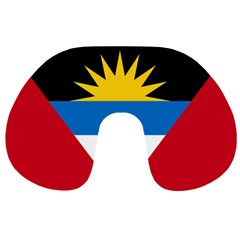Flag Of Antigua & Barbuda Travel Neck Pillows