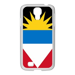 Flag Of Antigua & Barbuda Samsung Galaxy S4 I9500/ I9505 Case (white)