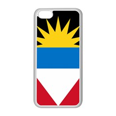 Flag Of Antigua & Barbuda Apple Iphone 5c Seamless Case (white)