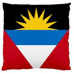 Flag Of Antigua & Barbuda Standard Flano Cushion Case (two Sides)