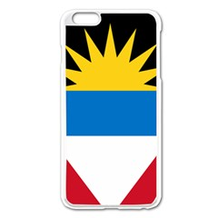 Flag Of Antigua & Barbuda Apple Iphone 6 Plus/6s Plus Enamel White Case
