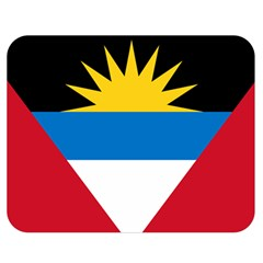 Flag Of Antigua & Barbuda Double Sided Flano Blanket (medium)