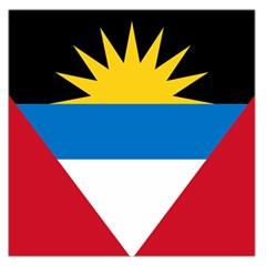 Flag Of Antigua & Barbuda Large Satin Scarf (square)