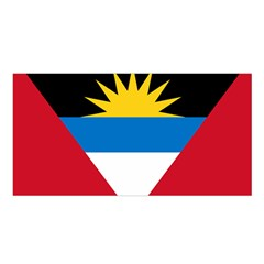 Flag Of Antigua & Barbuda Satin Shawl by abbeyz71