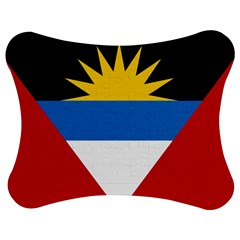 Flag Of Antigua & Barbuda Jigsaw Puzzle Photo Stand (bow)