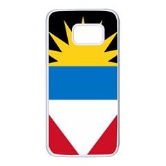 Flag Of Antigua & Barbuda Samsung Galaxy S7 White Seamless Case by abbeyz71