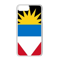 Flag Of Antigua & Barbuda Apple Iphone 7 Plus Seamless Case (white)